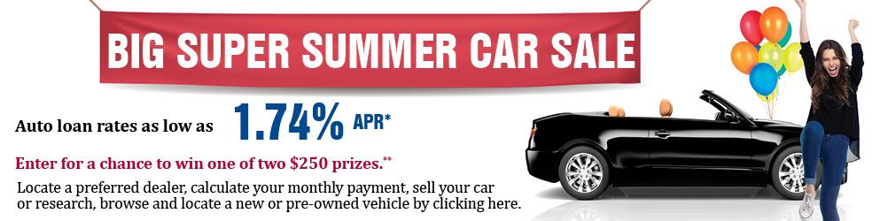 Big Super Summer Car Sale